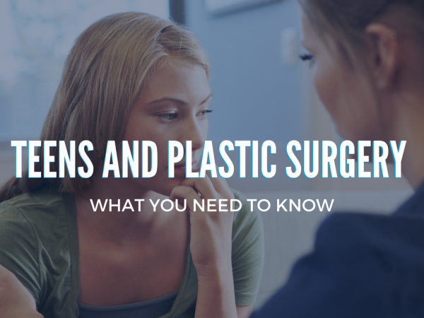 Teens and Plastic Surgery | Wall Street Cosmetic Surgery