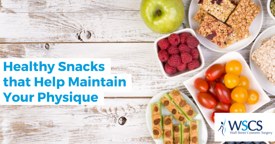 Healthy Snacks that Help Maintain Your Physique