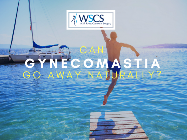 can gynecomastia go away on its own