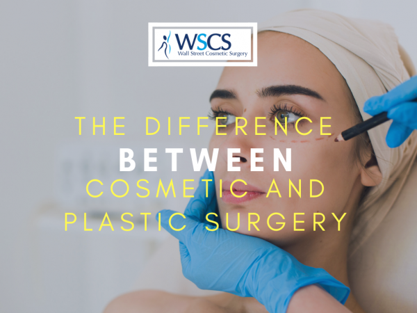 difference between plastic and cosmetic surgery